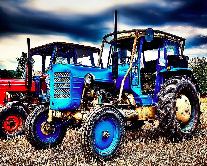 Fotka traktoru Zetror od Jan Stojan Photography ©
