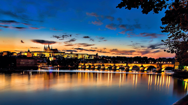 noční fotka prague castle pražský hrad  od Jan Stojan Photography ©