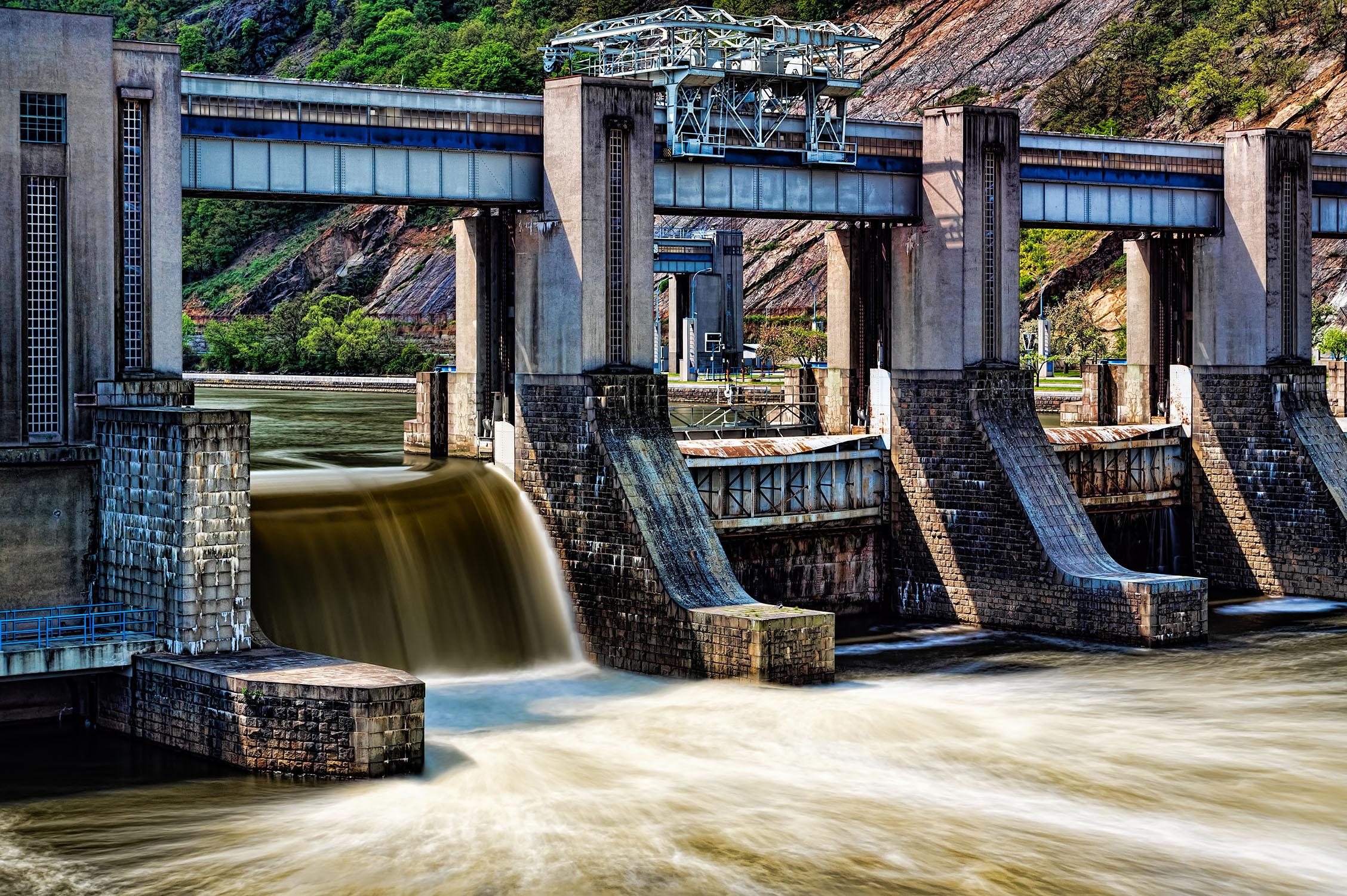 fotka vodní hráz vrané Vltava od Jan Stojan Photography ©