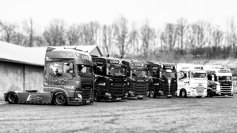 BW Trucks company LOG-X by Jan Stojan Photography ©