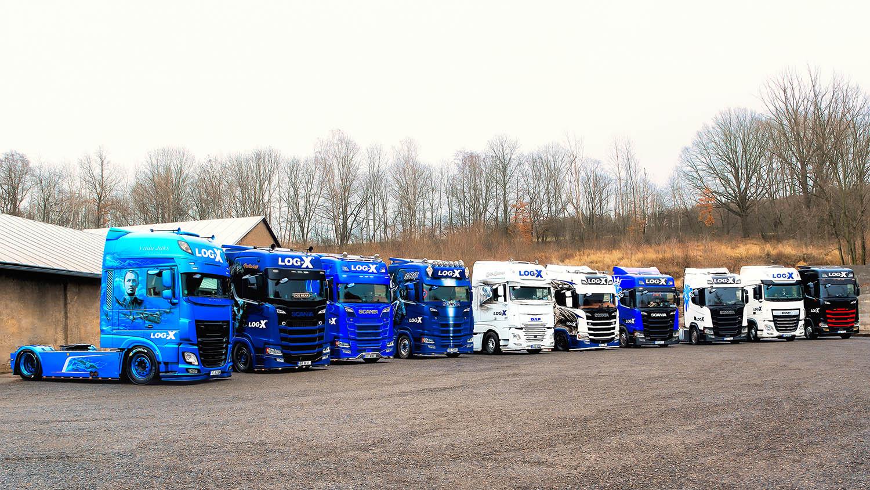 Nejkrásnější kamiony dopravní společnosti LOG-X od Jan Stojan Photography ©