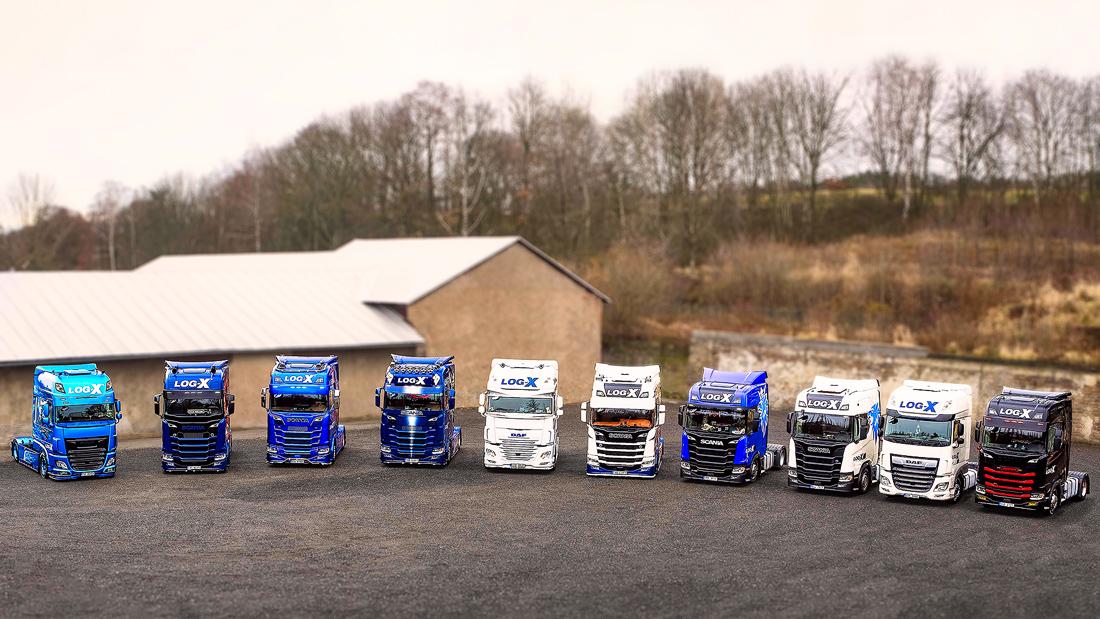 Nejlepší kamiony dopravní společnosti LOG-X od Jan Stojan Photography ©