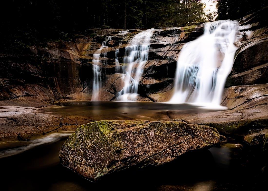 Harrachov Mumlavský vodopád