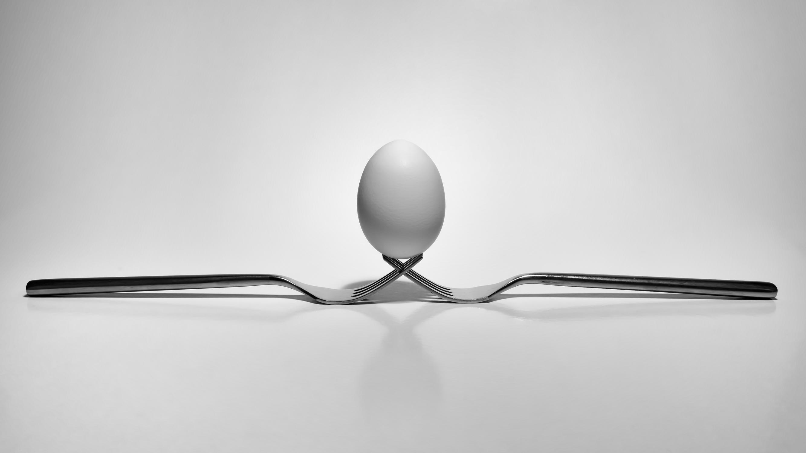vejce na vidličkách od Jan Stojan Photography ©