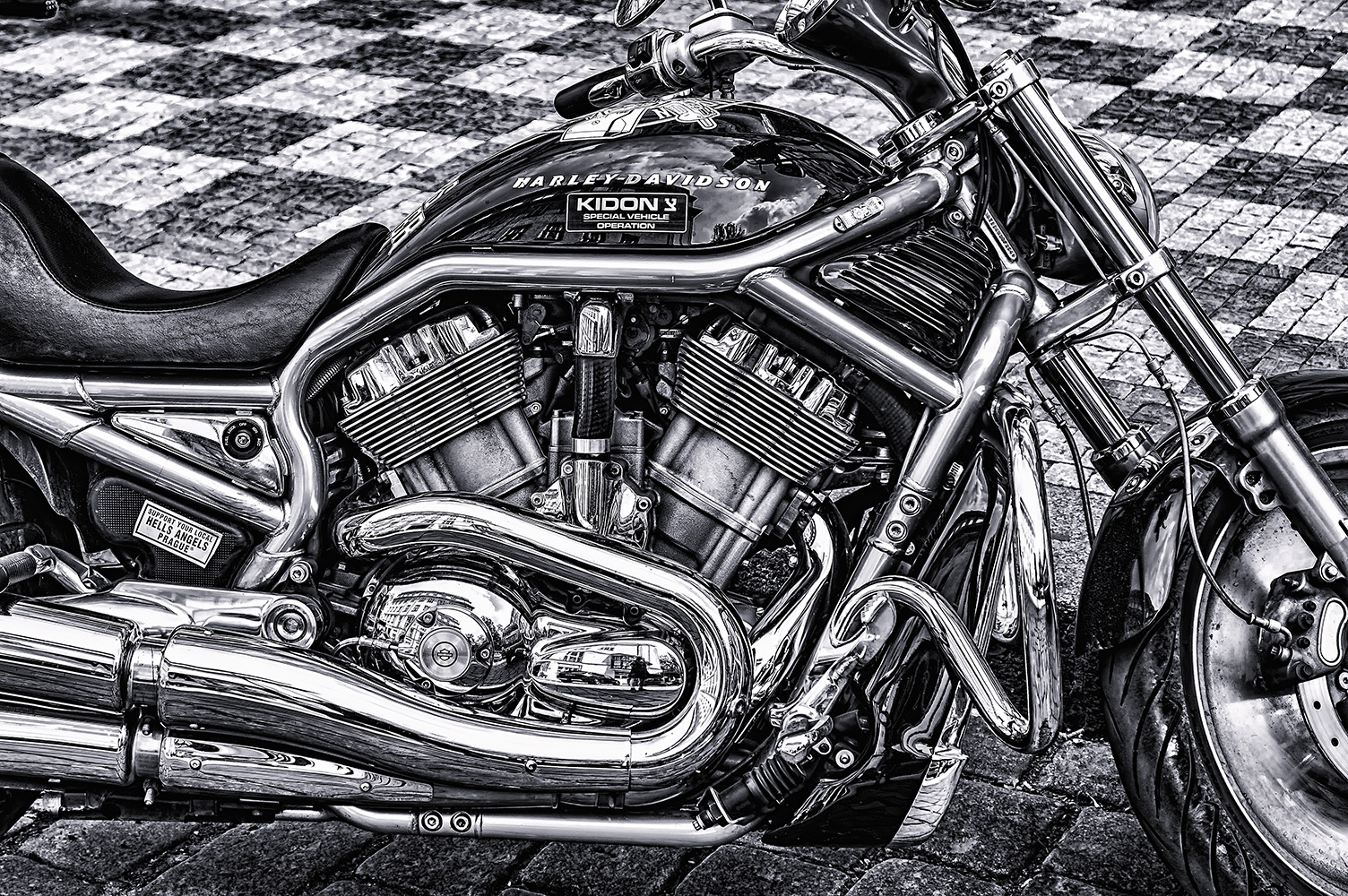 motorka harley davidson od Jan Stojan Photography ©