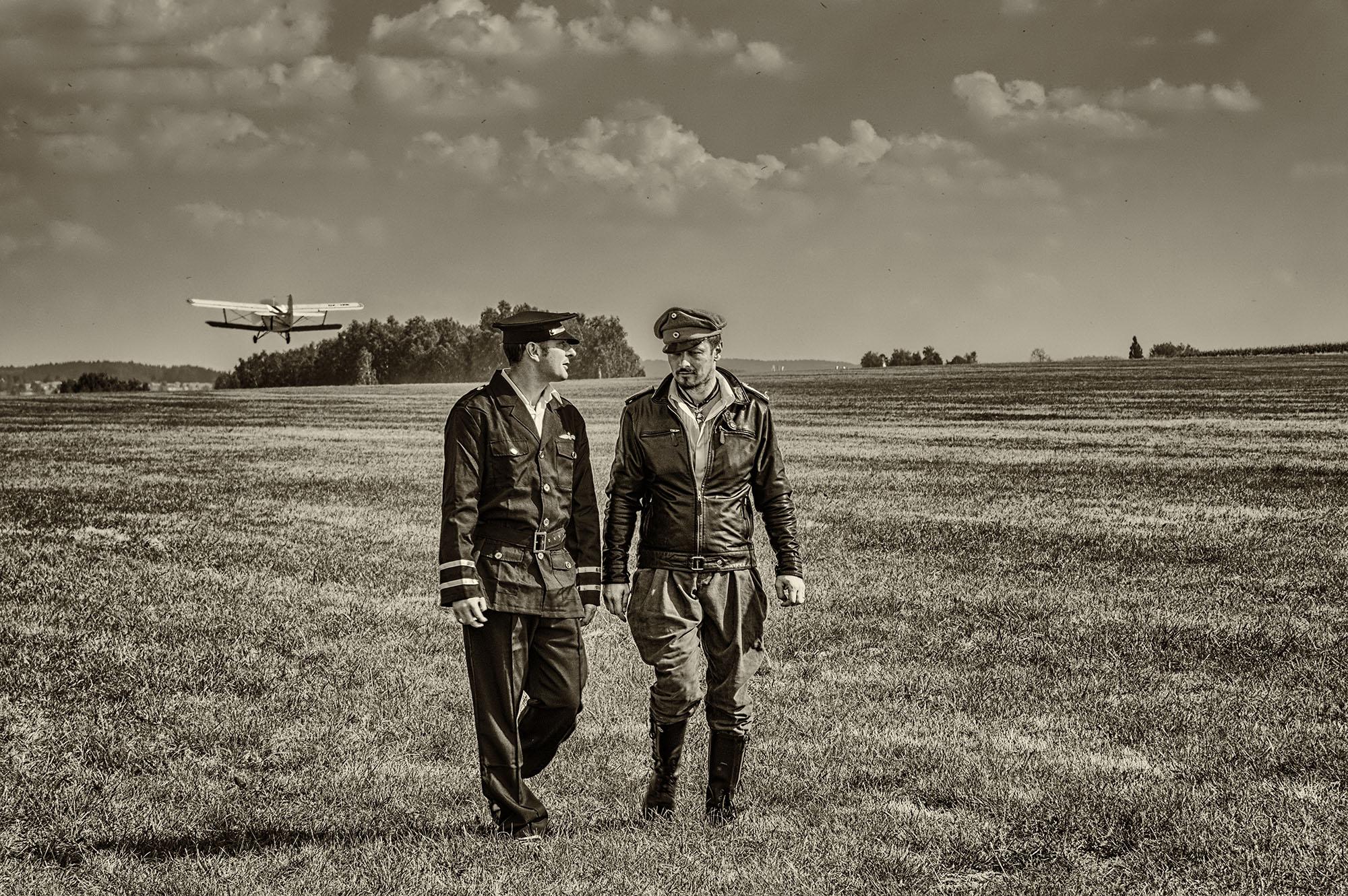 historická fotka letců první světové války od Jan Stojan Photography ©