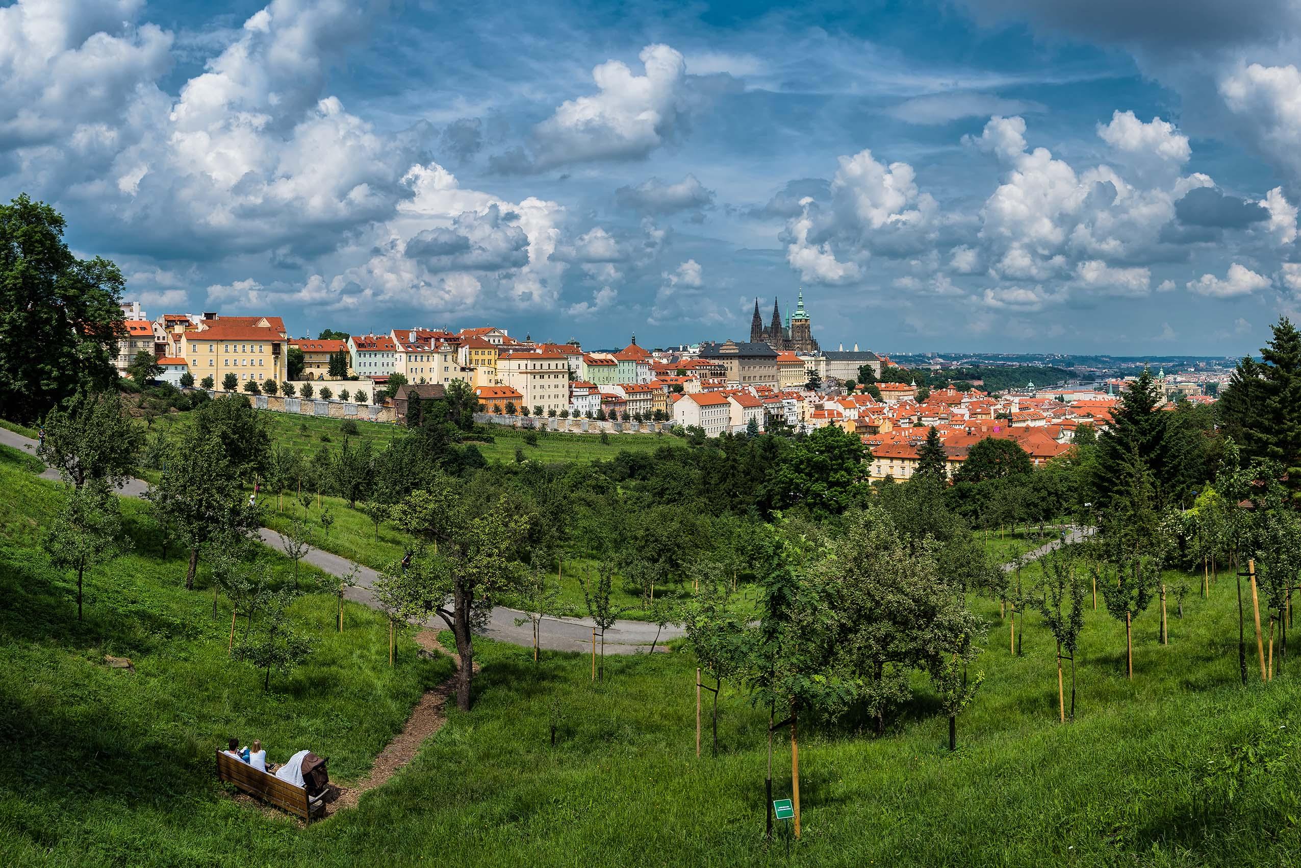 panoráma pražského hradu od Jan Stojan Photography ©