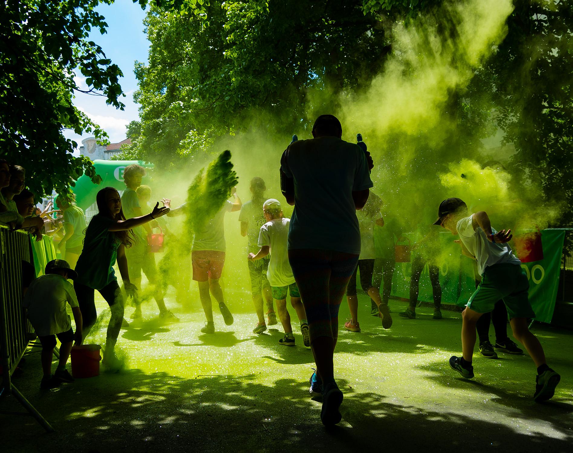 barvám neutečeš v Praze od Jan Stojan Photography ©