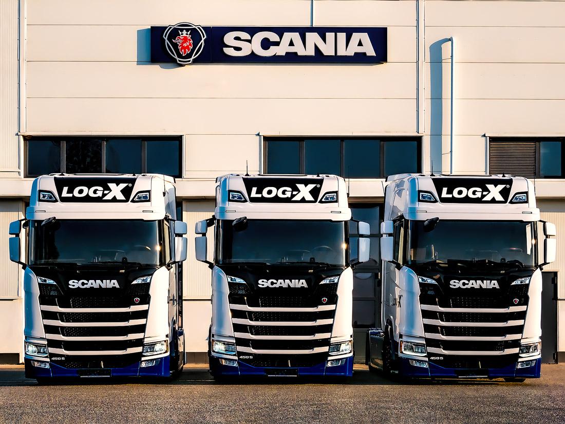 Scania 450s