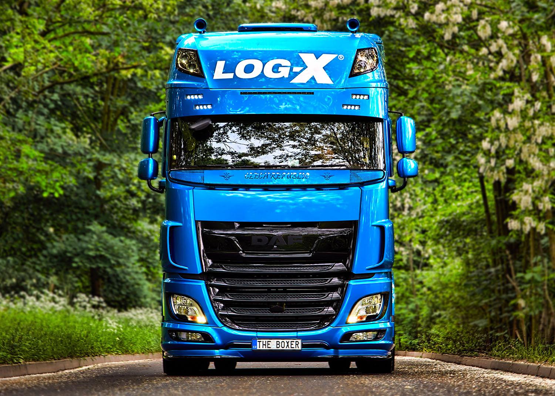 Kamion DAF THE BOXER, Vilda Jakš, společnosti LOG-X od Jan Stojan Photography ©