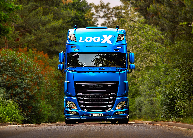 Truck DAF THE BOXER, Vilda Jakš, společnosti LOG-X od Jan Stojan Photography ©
