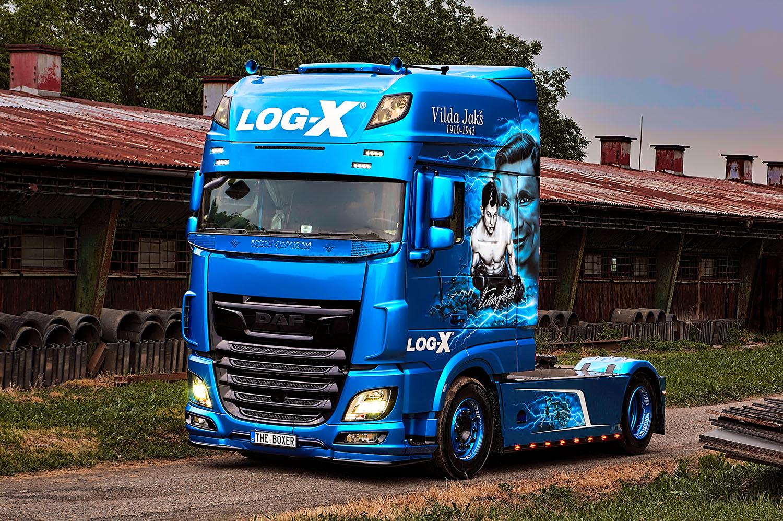 náklaďák DAF, THE BOXER, Vilda Jakš, společnosti LOG-X od Jan Stojan Photography ©