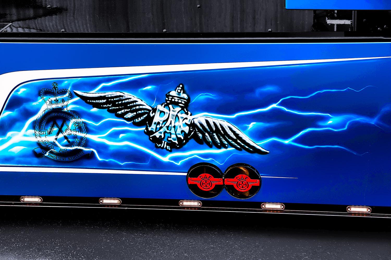 Detail boku Trucku DAF THE BOXER, Vilda Jakš, společnosti LOG-X od Jan Stojan Photography ©