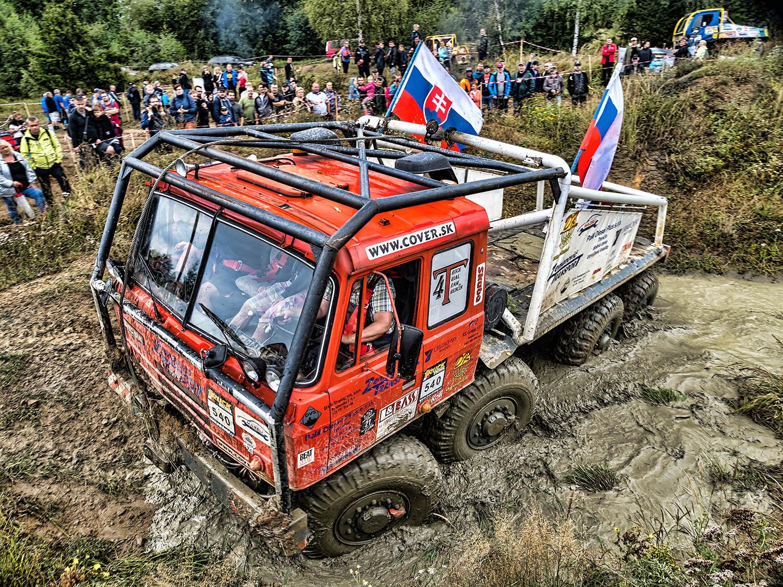 Tatra všeúčelový podvozek na truck trialu 2020 v Jihlavě