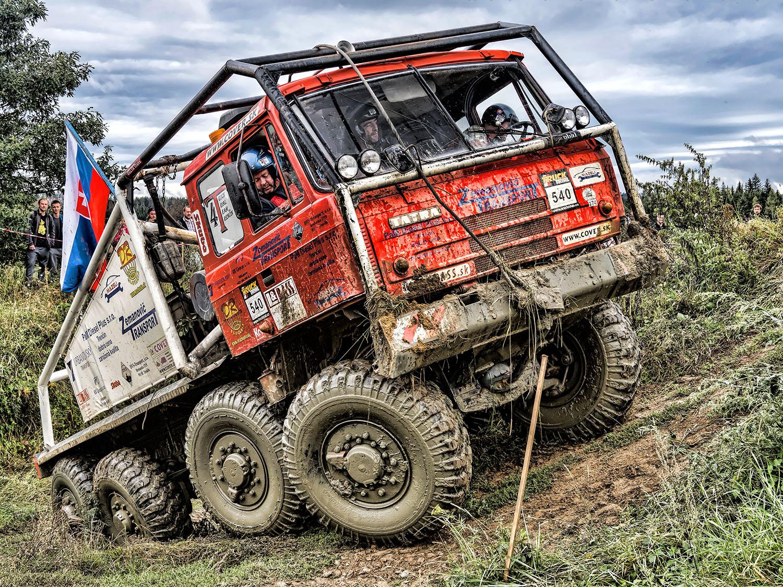 KOLOS na truck trialu 2020 v Jihlavě