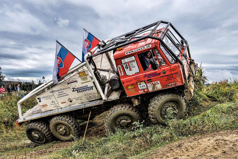 slovenská KOLOS na truck trialu 2020 v Jihlavě
