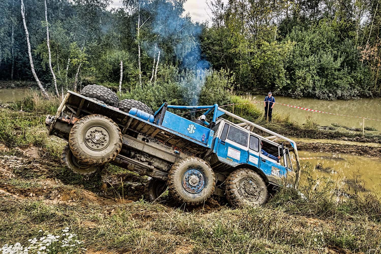 Tatra TP 6x6 truck trial Jihlava 2020