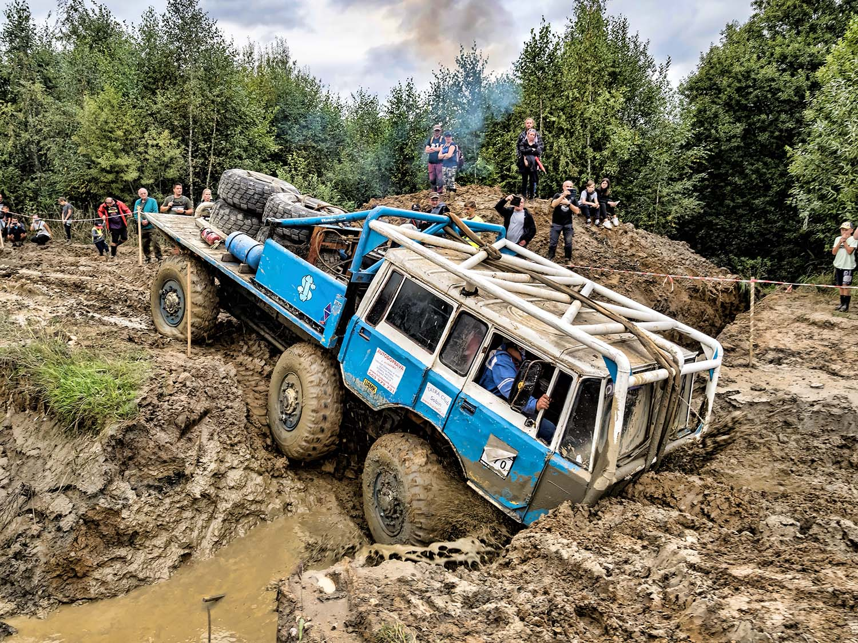 Tatra TP 6x6 tahač přívěsů