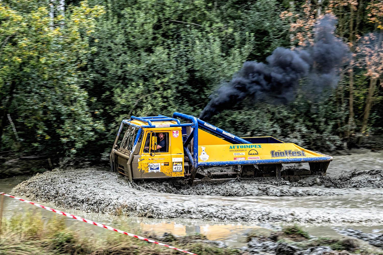 Tatra 815 na truck trilau