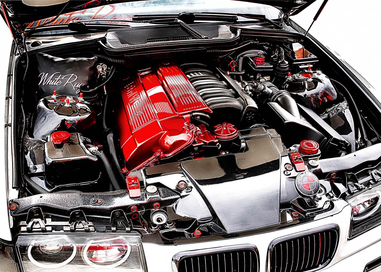 Motor White Rag - BMW e36 325i cabrio cz od Jan Stojan Photography ©