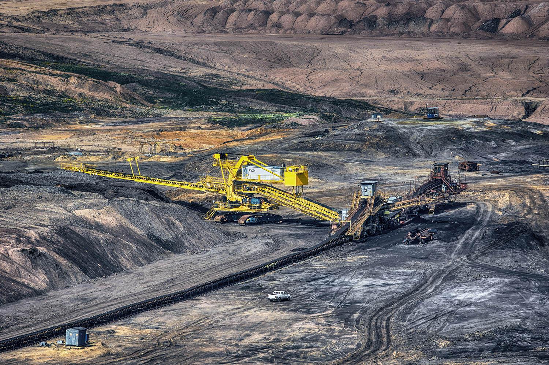 Velkostroj Zakladač ZP 6600 severní energetická sev-en uhelné safari Most důl těžba uhlí od Jan Stojan Photography ©