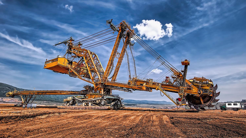 Velkostroj kolesové rýpadlo KU 800 severní energetická sev-en uhelné safari Most důl těžba uhlí od Jan Stojan Photography ©