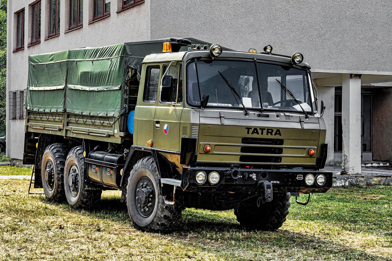 vojenská Tatra 815 6. LETNÍ VYVEDENÍ sraz vojenské a historické techniky Rožmitál pod Třemšínem