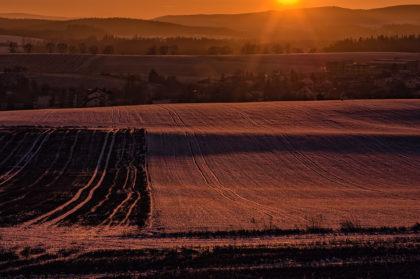 vysočina západ slunce jihlava zima jan stojan janstojan pentax janstojan.com