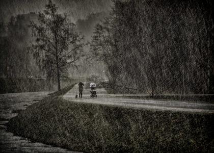 Jihlava přeháňka sníh jan stojan fotograf praha pentax