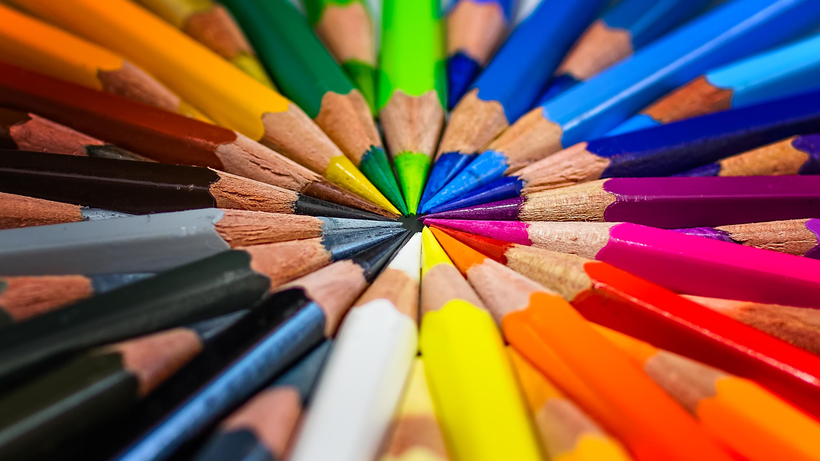 střed centre pastelky jan stojan © pentax
