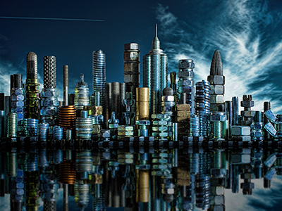 Jak vznikala fotografie Ocelové město?